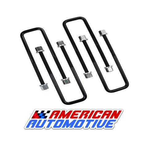 American Automotive UBLT12-388 Square U Bolts 10