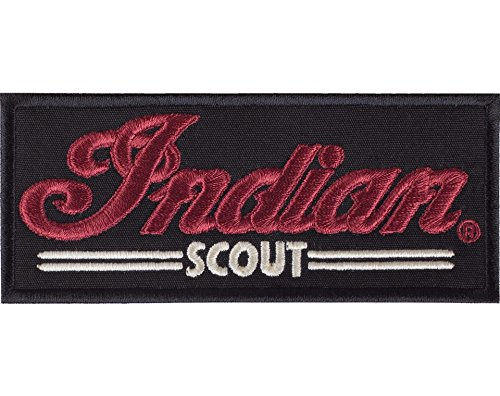 Indian Motorcycle Black Scout Patch by Indian Motorcycle