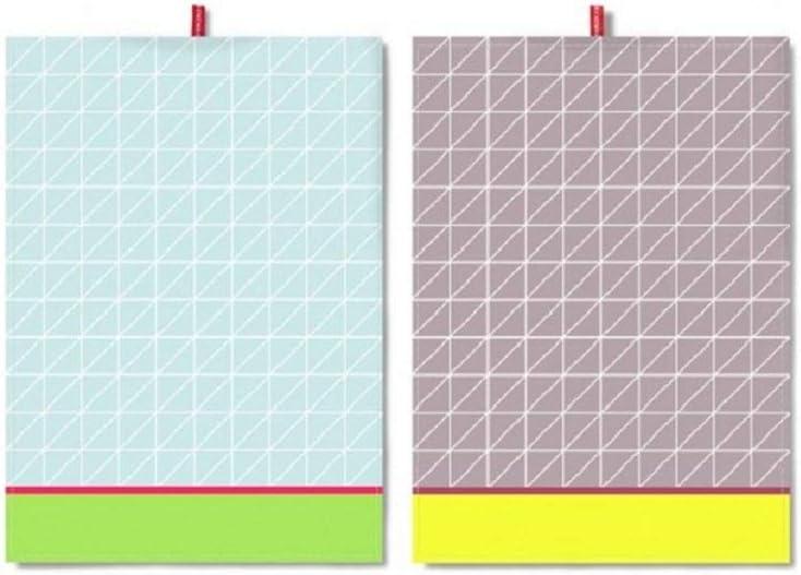 Remember TR15 Set de Trapos de Cocina 100% algodón   Set de 2 ...