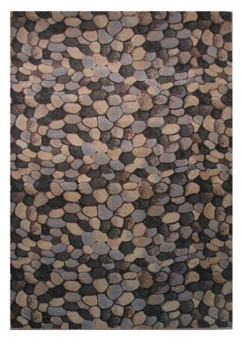 LA Rug Palazzo Israel Multi-Color Area Rug 4125-90 7 Foot 3 Inch by 10 Foot