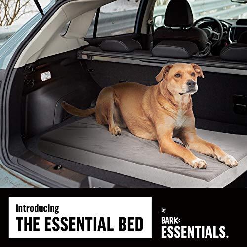 BarkBox X-Large Jumbo Gray Plush Orthopedic Memory Foam Dog Bed or Crate Mat | Removable Washable Cover - Free Surprise! by BarkBox (Image #4)