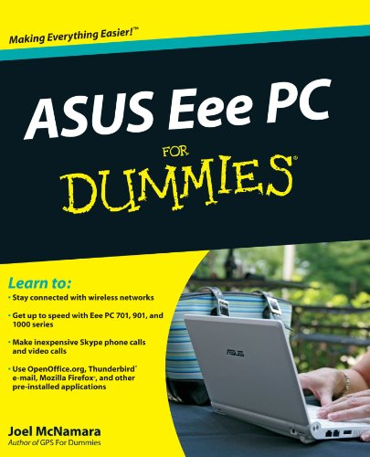 Picture of an ASUS Eee PC For Dummies 9780470411544
