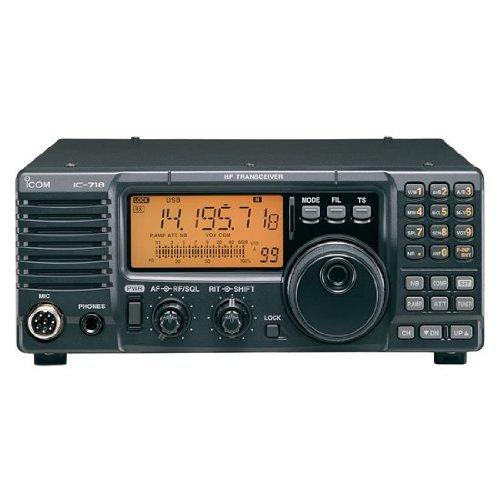 Icom IC-718 HF All Band Amateur Base Transceiver 100 Watts - Original Icom USA