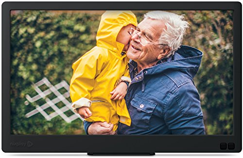 Nixplay Edge 13-Inch Wi-Fi Cloud Digital Photo Frame, Full HD 1080p