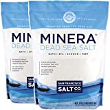 #7: Minera Natural Dead Sea Salt, 40 lbs. - Fine Grain (Qty 2, 20 lb. Bags)