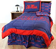 College Covers Ole Miss Rebels Bed in a Bag Set