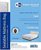 Kleer-Guard® Sealable Twin Mattress Bag with Microban® antimicrobial protection. 91″ x 52″ + 14″/3 mil. (Twin)