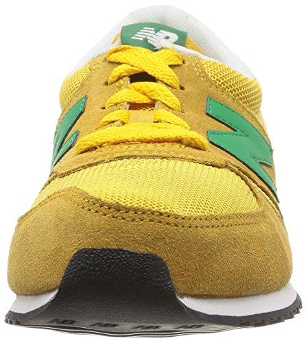 New Balance 420, Zapatillas Unisex Amarillo (Snyy Yellow/Green)