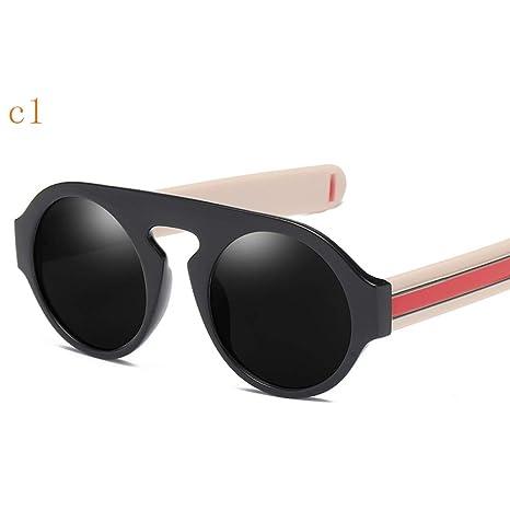 YWJHY Gafas de Sol de Gran tamaño, Elegantes y Atractivas ...