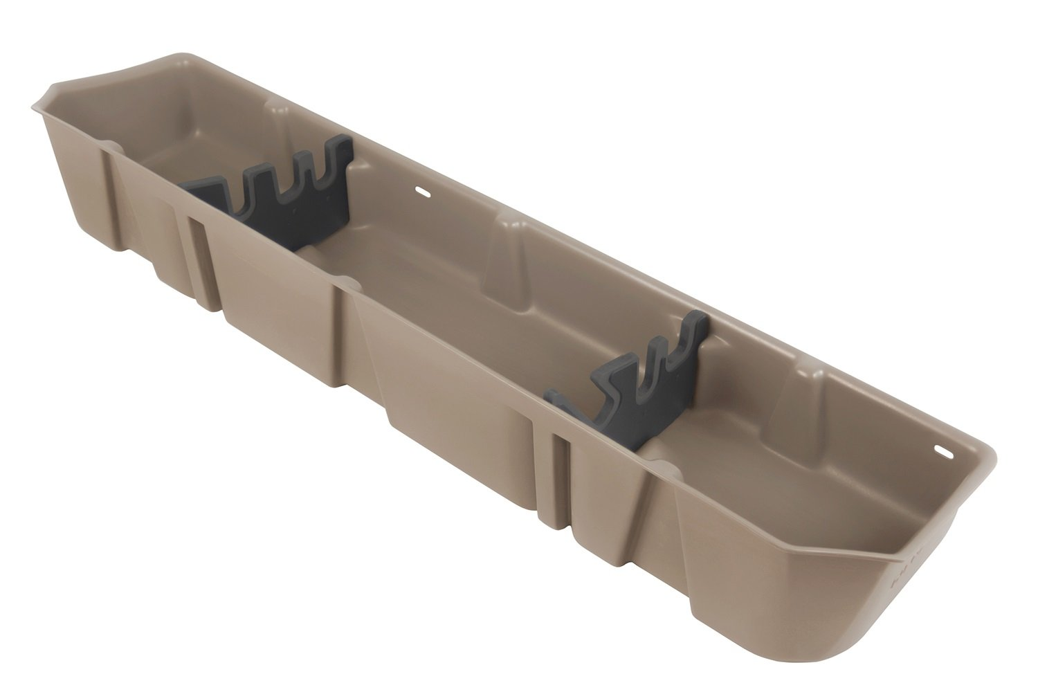 DU-HA 20111 Light Gray Underseat Storage Console Organizer for Ford F150 Supercrew