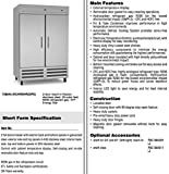 Kelvinator KCHRI54R2DFE Stainless Steel Reach-in