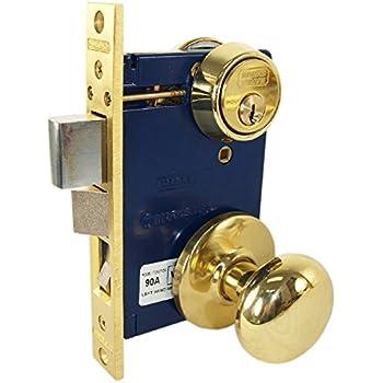 Segal Se 27580 Entrance Mortise Lockset 2 1 2 In Backset