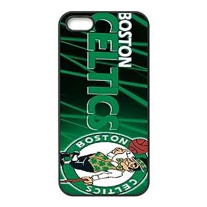 Boston Celtics NBA Black Phone Case for iPhone 5S Case