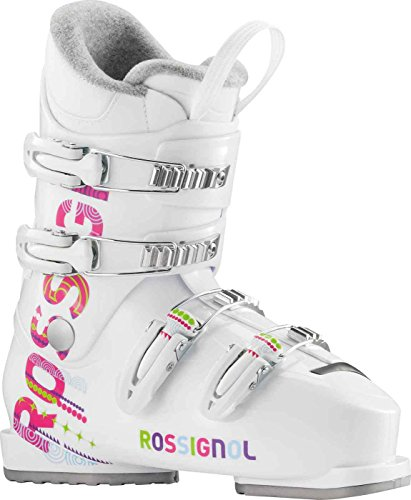 Rossignol Fun Girl J4 Girls Ski Boots - 24.5/White
