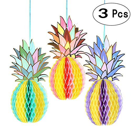 Tropical Pineapples Decor Hangings Decorations Hawaiian Luau Beach Ceiling Hangings Decorations Classroom Decor Baby Shower Wedding Thanksgiving Party Decorations -