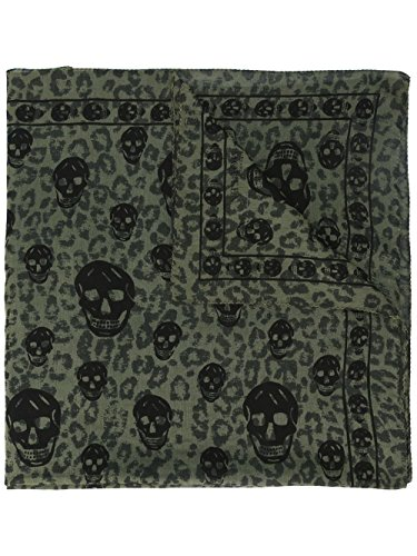 alexander-mcqueen-mens-4574824831q2960-black-green-cotton-scarf