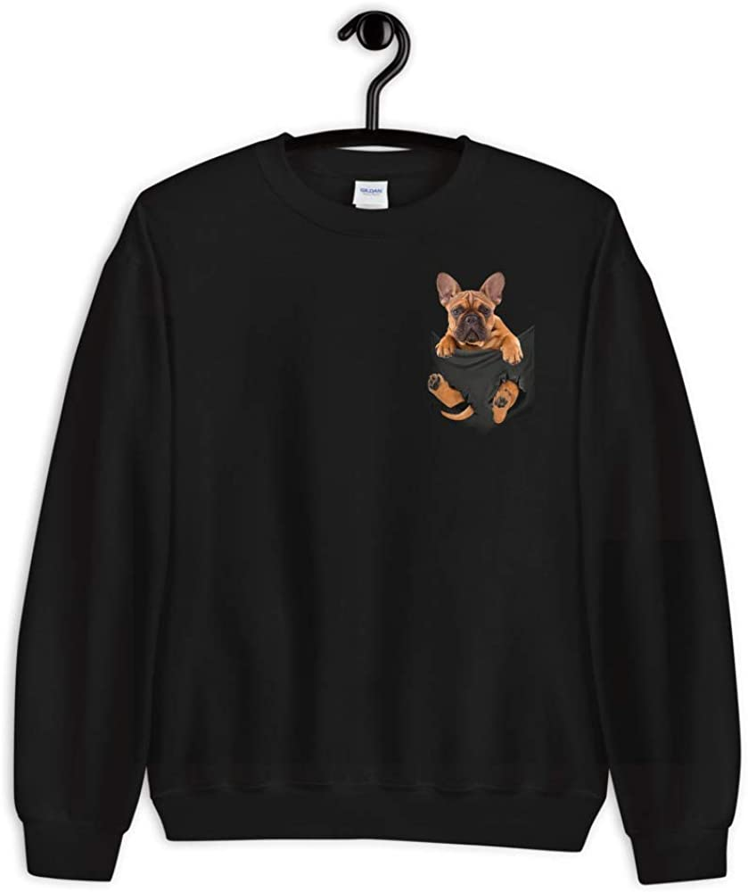 Cream French Bulldog Ugly Christmas Sweater Wonder Why Christmas Missed Us Hanes Ugly Christmas Sweatshirt