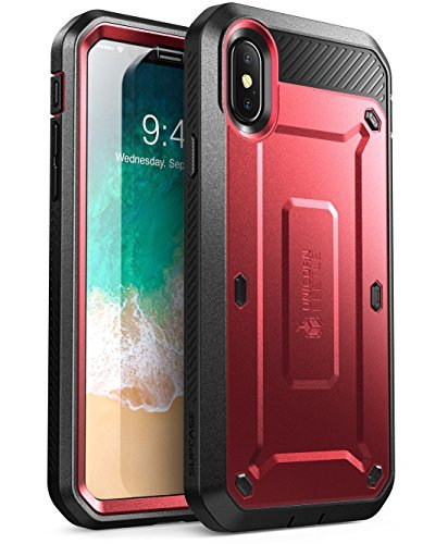 innovative design 0404f 38b62 SUPCASE Unicorn Beetle Pro Series Case Designed for iPhone X, with Built-In  Screen Protector Full-body Rugged Holster Case for Apple iPhone X / iPhone  ...