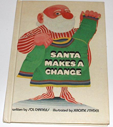 Santa Makes a Change. (Davy Crockett Outfit)