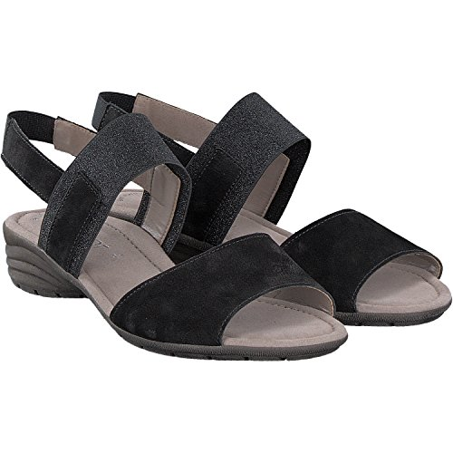 Gabor Women's 64.553.17 Fashion Sandals Black LBcamkNx2z