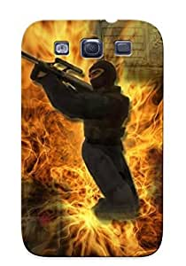 For SamSung Note 4 Case Cover (counter Strike Fire Mod ) Gift For Christmas