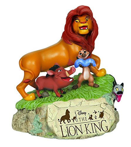 Resin Music Box (Precious Moments, Disney Showcase Collection, Lion King, Resin Music Box, 144706)