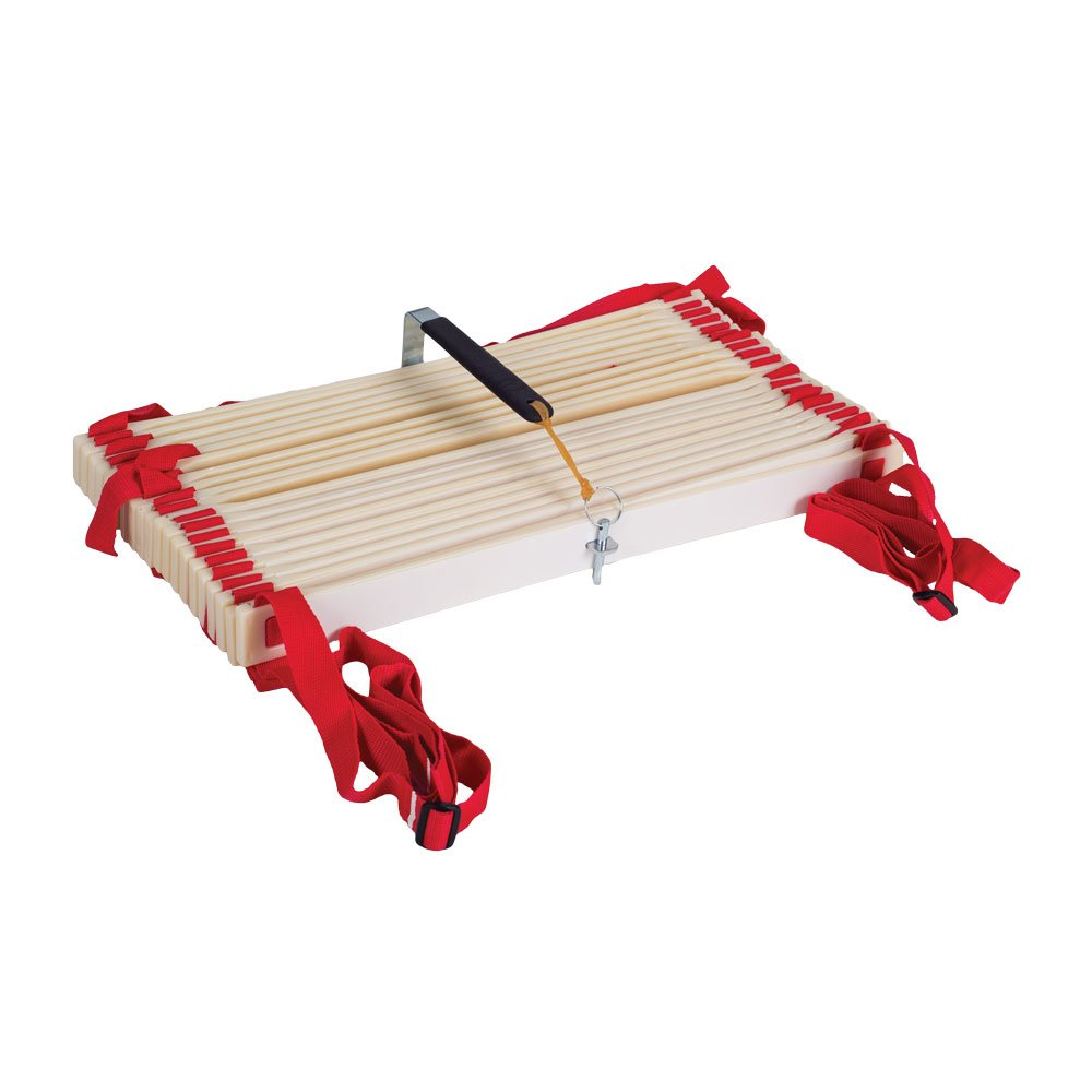 Power Systems Pro Adjustable Slat Agility Ladder, 15 Feet x 20 Inches, Red/White (30652) by Power Systems