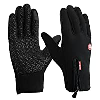 HAKE Touch Screen Gloves Running Driving Gloves Screen Touch Gloves Waterproof Warm Gloves for Women and Men