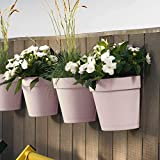 TABOR TOOLS Plastic Wall Planter, 6 Colors