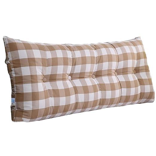 JXQ Cabezal de la cama extraíble y lavable cojín grande cama ...