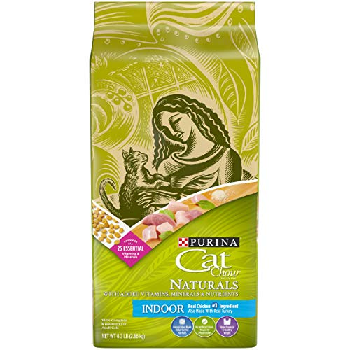 Purina Cat Chow Hairball, Healthy Weight, Indoor, Natural Dry Cat Food, Naturals Indoor - 13 lb. Bag