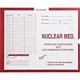 Nuclear Med., Manila - Category Insert Jackets, System II, Open End - 10-1/2'' x 12-1/2'' (Carton of 250)