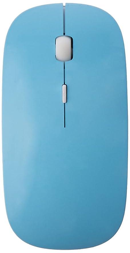 82c68cfa092 Amazon.com: ROCKSOUL MS-102LSBT Bluetooth Laser Mouse for MAC, Baby Blue:  Computers & Accessories