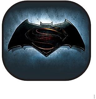 5377b35255a Warner Brothers 003738R01 Batman vs. Superman 2-Piece Side Window Sunshade