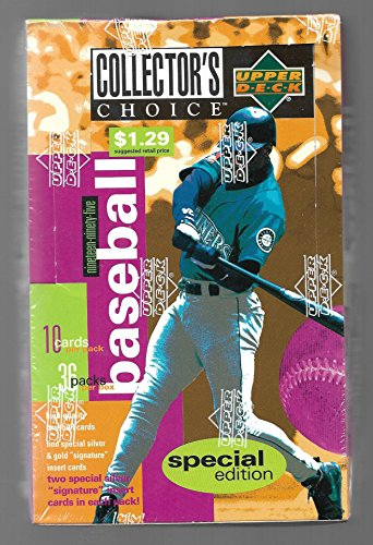 1995 UPPER DECK COLLECTOR'S CHOICE SERIES 2 BASEBALL SPECIAL EDITION SEALED BOX ()