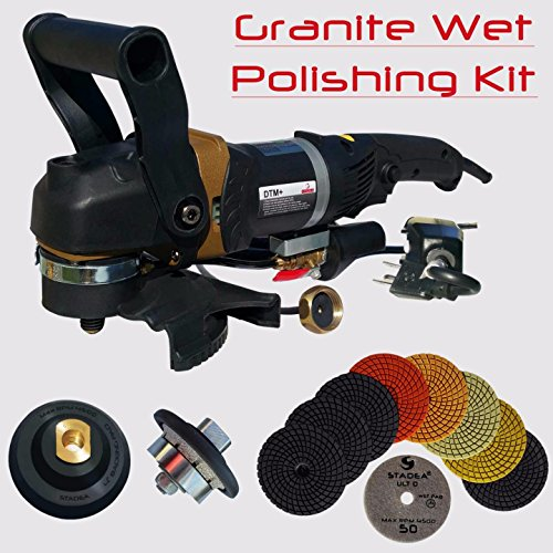 Head 12' Diamond (Stadea SWP110K Granite Bullnose Fabrication Tools Package Kit - 5