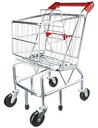 Melissa & Doug Shopping Trolley With Sturdy Metal Frame