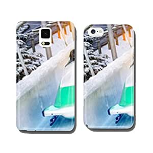 Winter sports - Bobsleigh in the rink cell phone cover case iPhone5