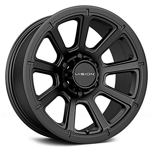Vision Offroad Turbine Сustom Wheel - 353 Turbine Matte Black 16