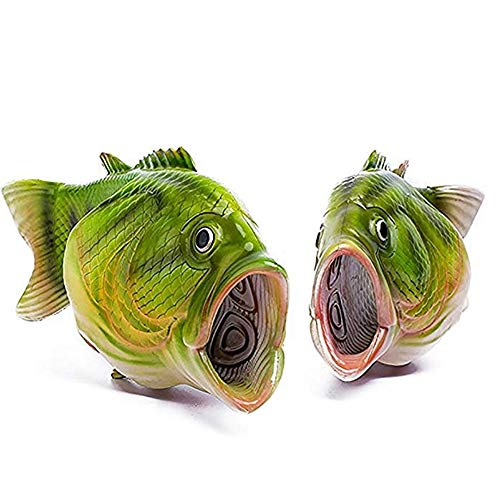 for Sandals Slippers Shower Beach Shoes Women Size Men Green Quick and Drying Soft Large Fish 8gRWSHE