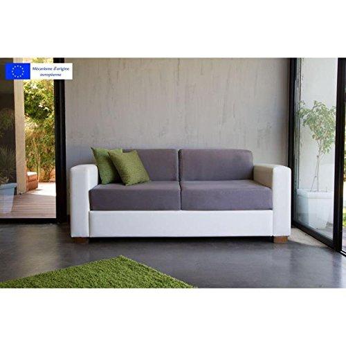 Rodeo Sofa Recht Convertible Bett Express 3Sitzer zweifarbig