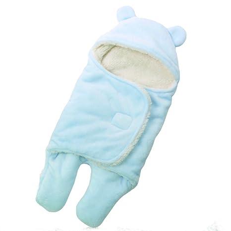 mainaisi bebé toallas de albornoz con capucha Wrap Saco de dormir Saco de dormir para bebé