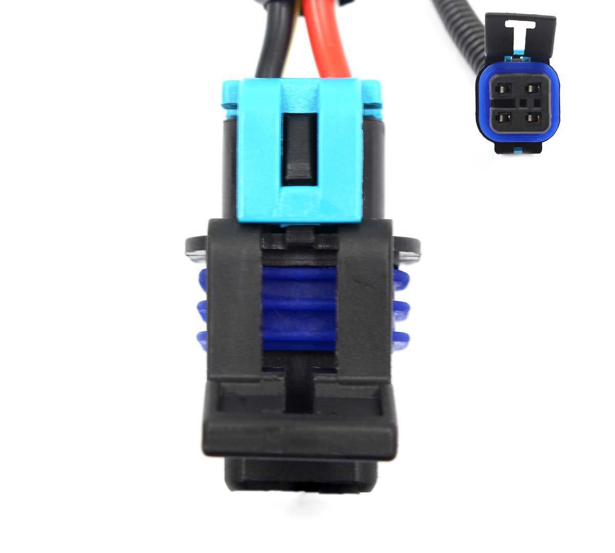 Goodeal 2pcs 24 Ls1 Oxygen O2 Sensor Header Extension Oxigen Sencer 2000 Gmc Jimmy Wiring Harness For Camaro Firebird Automotive