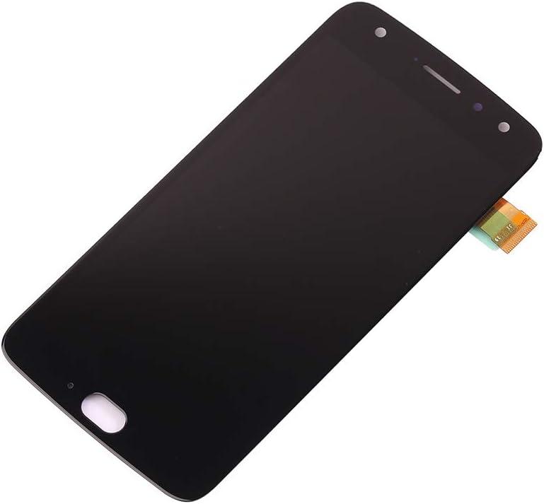 Replacement for Motorola Moto X4 XT1900-1 NA / XT1900-2 APAC JP APAC / XT1900-4 LATAM / XT1900-5 EMEA / XT1900-6 BR / XT1900-7 AM 5.1 inch LCD Display Touch Screen Digitizer Assembly (Black-NO Frame)