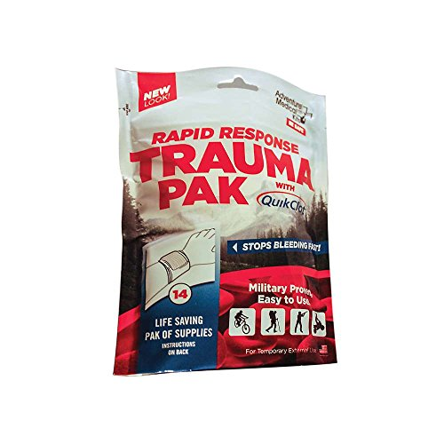 Adventure Medical Kits Rapid Response Trauma Pack with QuikClot