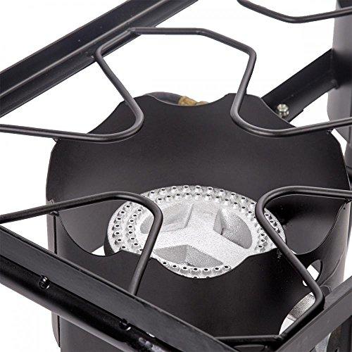 FDW Double Propane High Pressure Burner Stove Propane Gas Cooker 2 Burner