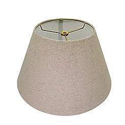 Medium Lamp Shade,Alucset Barrel Fabric ...