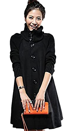 7513f20fb8280 Amazon.com  Women s Warm Stylish Wool Jacket Winter Coat C05  Clothing