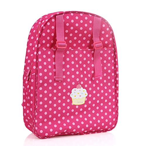 Beverly Hills Doll Backpack Carrier for Girls- Fits 18