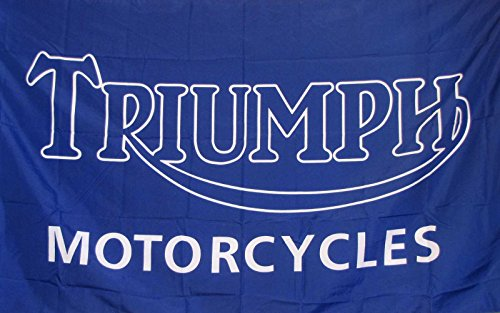 (Triumph Moto Flag 3' X 5' Motorcycle Indoor Outdoor Banner)